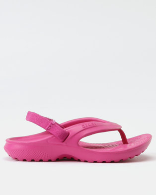 29998437af53 Crocs Classic Flip K Candy Pink