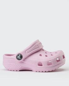 Crocs Littles Ballerina Slip On Pink