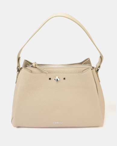 Fiorelli Khloe Boxy Shoulder Bag Sand