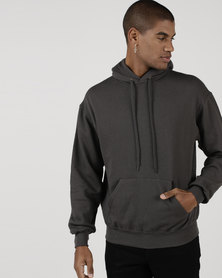 Fruit of the Loom Hooded Sweater Light Graphite