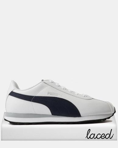 4862bc5f541 Puma Turin Sneakers Puma White-Peacoat | Zando