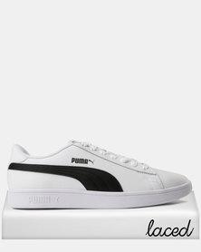 Puma Smash v2 L Sneakers Puma White-Puma Black