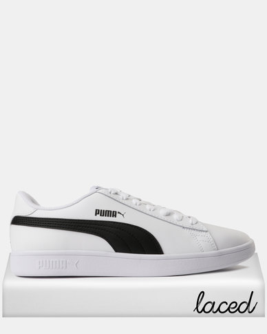 7fb49adef935 Puma Smash v2 L Sneakers Puma White-Puma Black