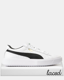 Puma Breaker LTHR Sneakers Puma White-Puma Black