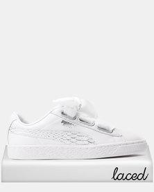Puma Basket Heart Oceanaire Sneakers Puma White - Puma White
