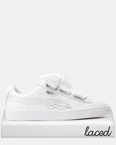 c9aa512cac0 Puma Basket Heart Oceanaire Sneakers Puma White - Puma White