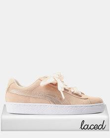 Puma Suede Heart LunaLux Sneakers Cream/Tan