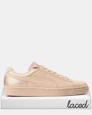 162f67966ea1 Puma Suede LunaLux Sneakers Cream Tan