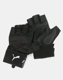 Puma Sportstyle Core TR Ess Premium Gloves Black-Gray