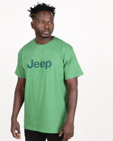 Jeep Twill Applique Tee Kelly Green