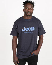 Jeep Twill Applique Tee Navy