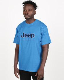 Jeep Twill Applique Tee Stellar Blue