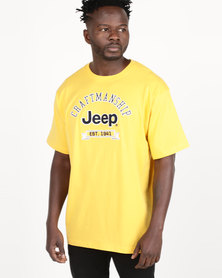 Jeep Twill Applique Tee Yellow