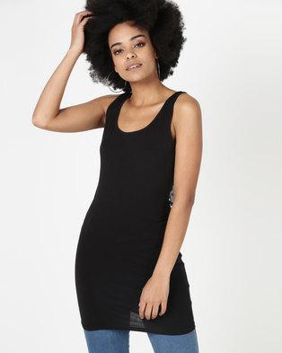 New Look Longline Vest Black