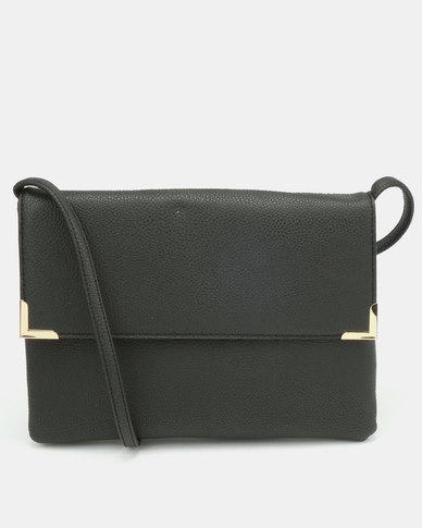 New Look T Flo Crossbody Bag Black