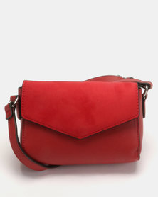 New Look Stella XBody Bag Dark Red