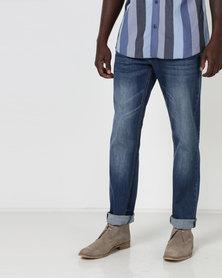 JCrew Mid Stretch Denim Jeans Indigo
