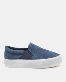 KG Slip On Shoes Blue