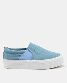 KG Slip On Shoes Sky Blue