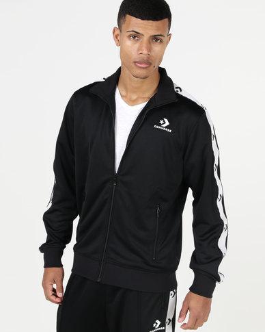 Converse Star Chevron Track Jacket Black  1625a673e
