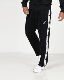 Converse Star Chevron Track Pants Black