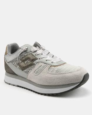 buy online ebe10 f62a6 Lotto Tokio Shibuya Sneakers Grey Opal.