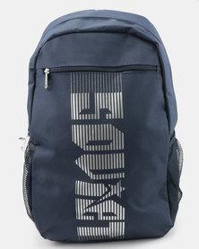 Soviet Beavers Nylon Medium Backpack Navy/Silver
