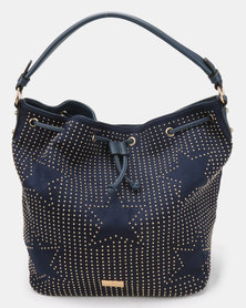 Miss Black Arrow Shoulder Bag Navy