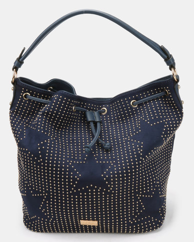 Miss Black Arrow Shoulder Bag Navy