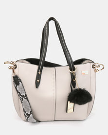 Miss Black Aspena Shoulder Bag Ivory