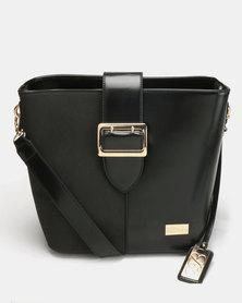Miss Black Brooklyn Shoulder Bag Black