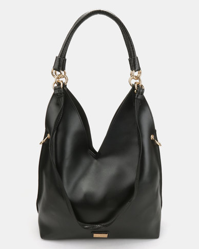 Miss Black Dakota Shoulder Bag Black