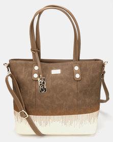 Miss Black Dolce Handbag Brown