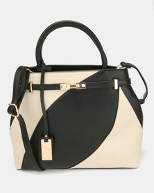 Miss Black McCartney Handbag Black/Ivory