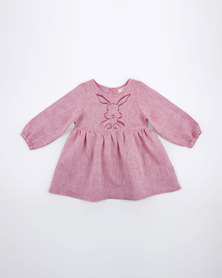 Moon and Son Winter Top Pink