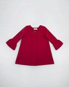 Moon and Son Winter Coat Red