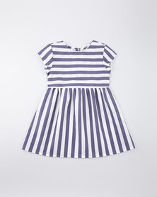 Moon and Son Summer Dress Nautical Stripes