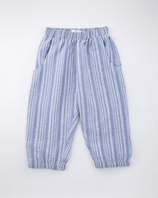 Moon and Son Cropped Joggers Striped