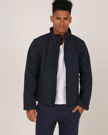 Russell Soft Shell Jacket Classic French Navy
