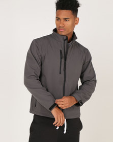 Russell Soft Shell Jacket Classic Titanium