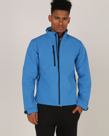 Russell Soft Shell Jacket Classic Azure Blue