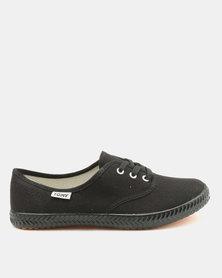 Tomy Takkies Black Original Low Sneakers Black