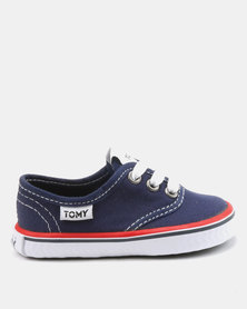 Tomy Takkies Infants Sneakers Navy/Red