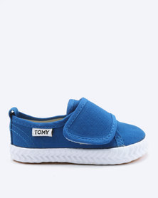 Tomy Takkies Infants Velcro Sneakers Cobalt Blue