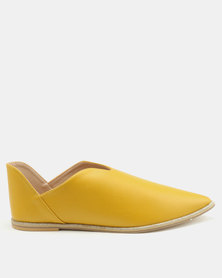 Footwork Maisy Casual Shoes Mustard