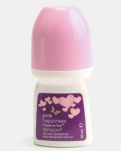 Revlon Pink Happiness Crush On You Roll on Deodorant 50 ml