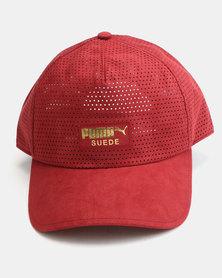 Puma Sportstyle Prime Suede BB Cap Pomegranate