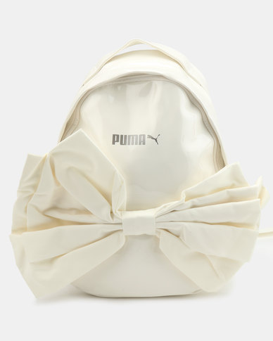 Puma Sportstyle Prime Archive Backpack Bow Whisper White  0a61e0a409a59