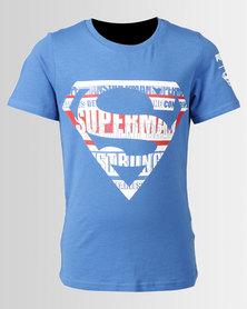 Puma Sportstyle Core Justice League Tee Blue