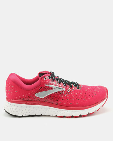 Brooks Laceup Sneakers Pink